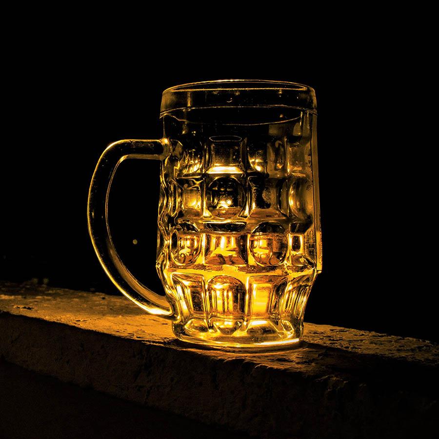 Beer glass slider - 1