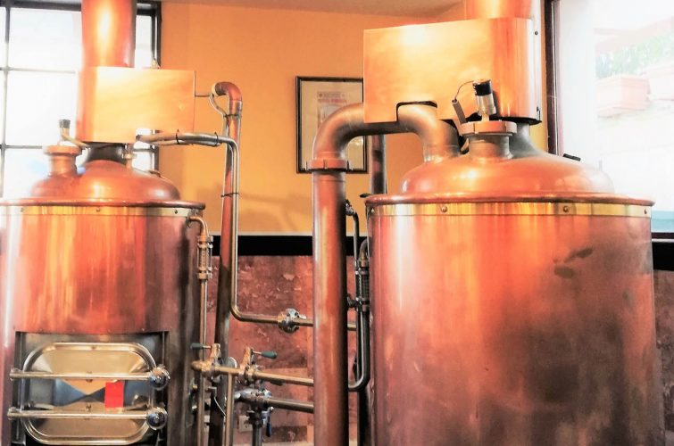 Dakota brewery tanks